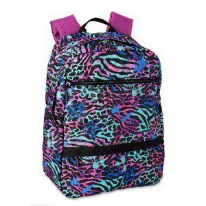 NEW🌸WONDER NATION Rainbow Animal Print Backpack